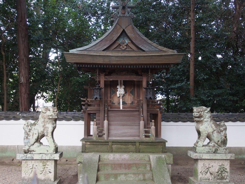 八坂神社(山町)本殿