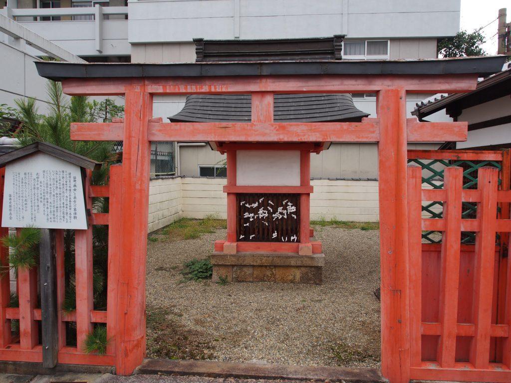 采女神社の鳥居