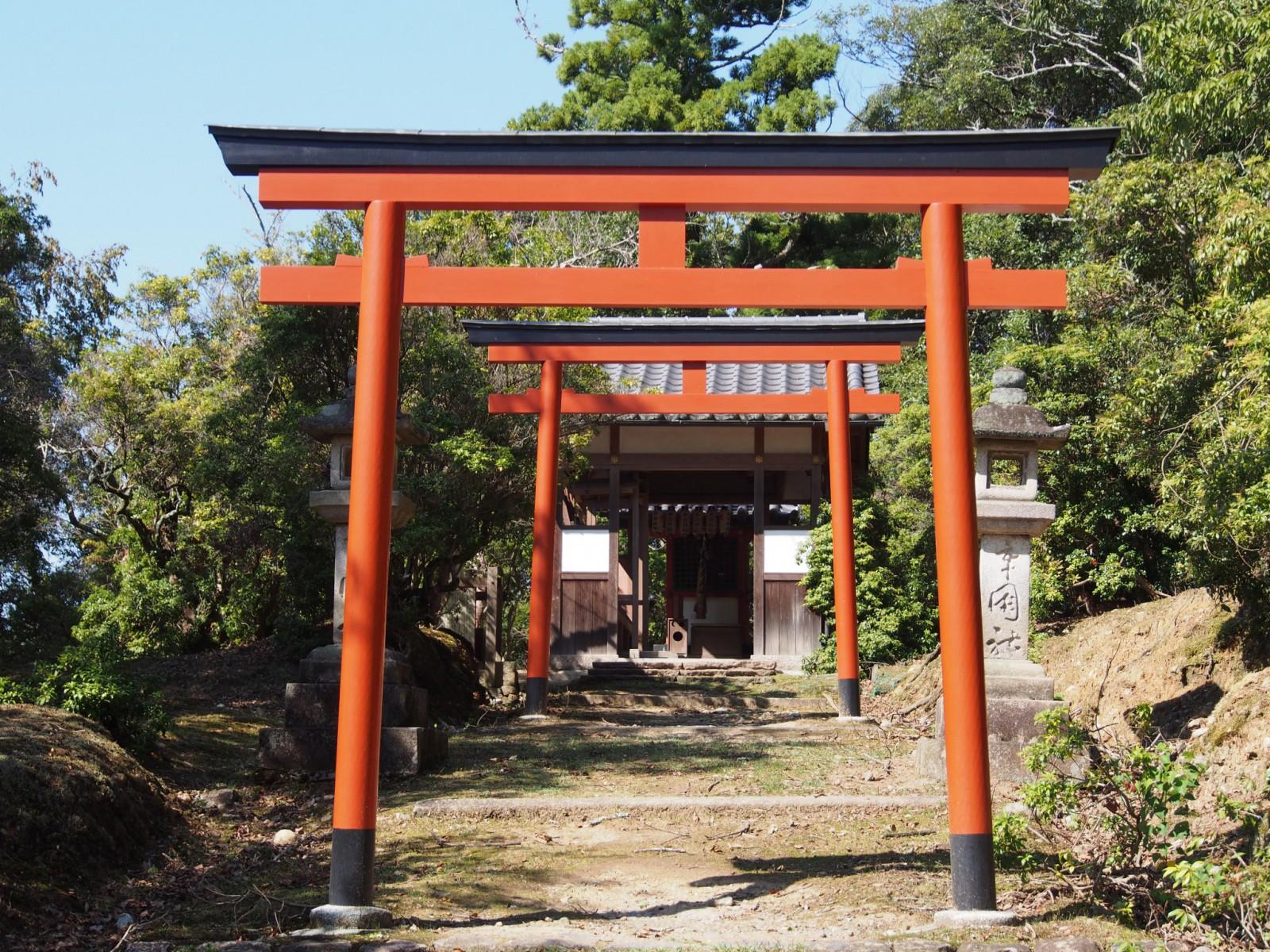辛国神社(奈良・東大寺境内)
