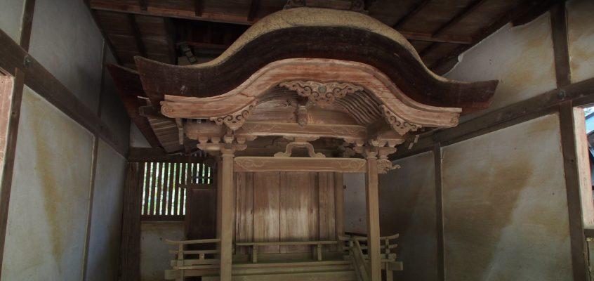 【手向山八幡宮神楽所・東照宮】かつての「徳川家」をお守りした社殿が保存される空間
