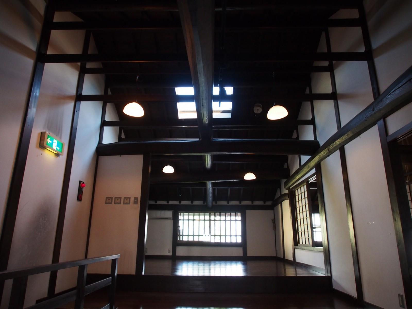 奈良町格子の家(2階部分)