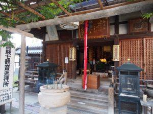 【興福寺一言観音堂】放生会の会場にもなる小さなお堂で「一言」の祈りを捧げる