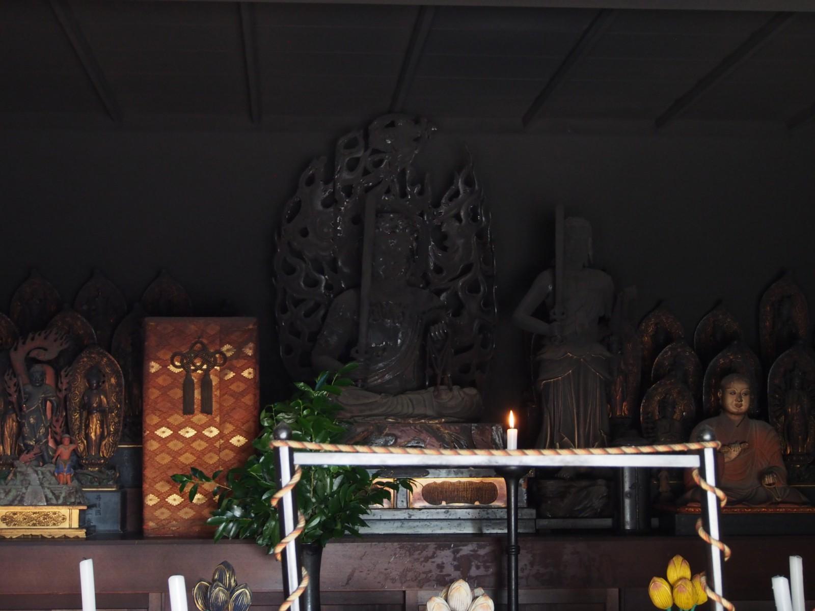興福寺不動堂「不動明王像」