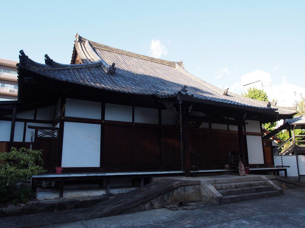 念仏寺(奈良市)の本堂