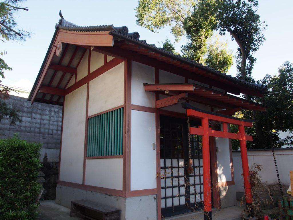 念仏寺(奈良市)境内にある神社