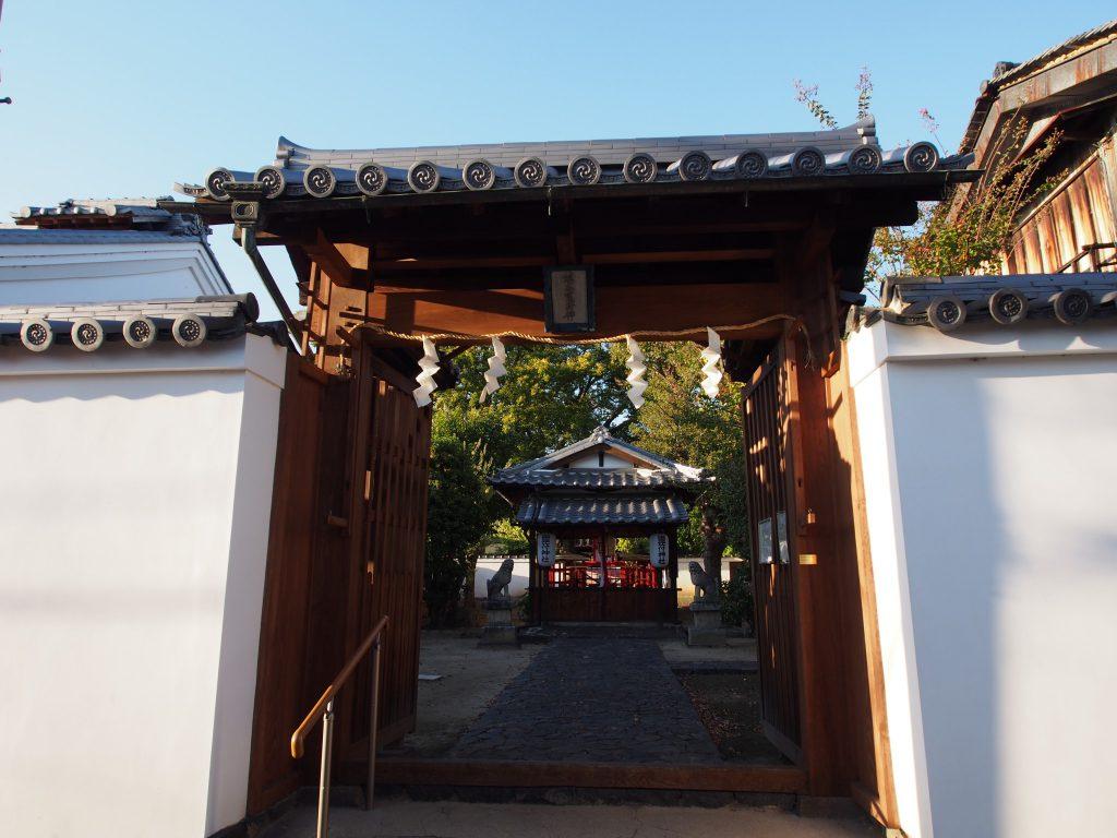 鎮宅霊符神社の入り口