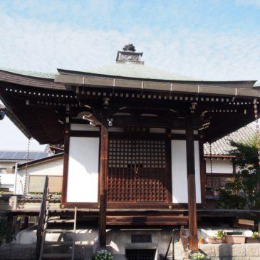 【十輪院御影堂】弘法大師坐像が安置される小さなお堂