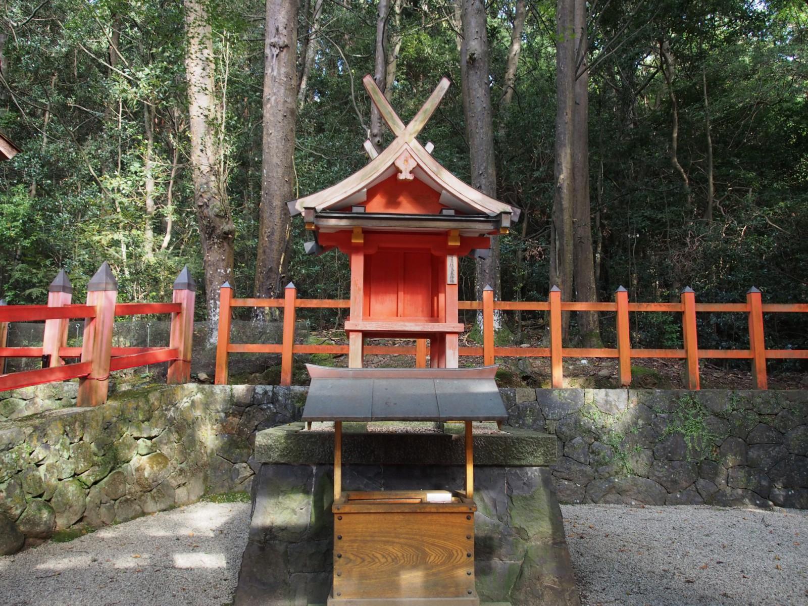 佐良気神社の社殿