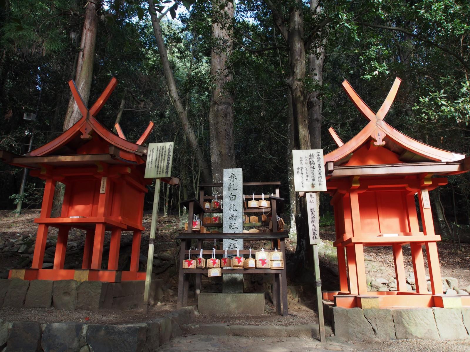 春日大社の「廣瀬神社」と「葛城神社」