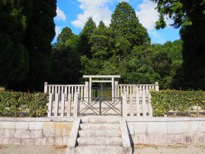 【春日宮天皇陵】光仁天皇の父親=志貴皇子が眠る空間