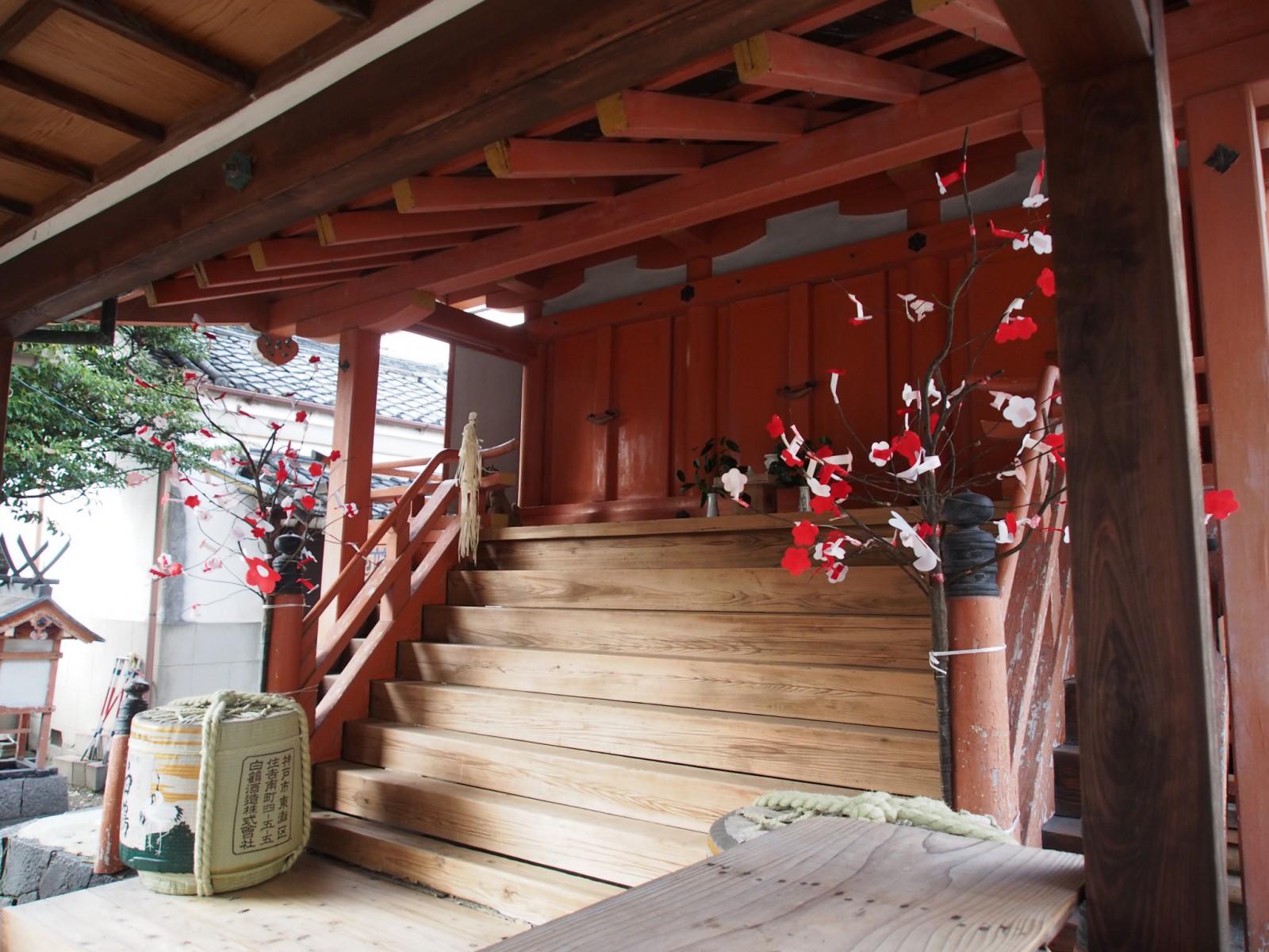 飛鳥神社(京終天神社)本殿