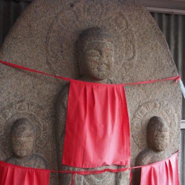 【京終地蔵院】美しい阿弥陀三尊をご覧いただける隠れたスポット