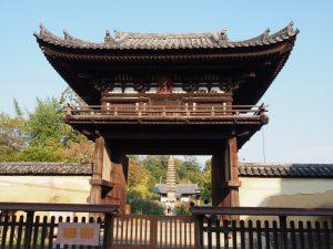 【般若寺楼門】国宝に指定されている日本最古の楼門建築