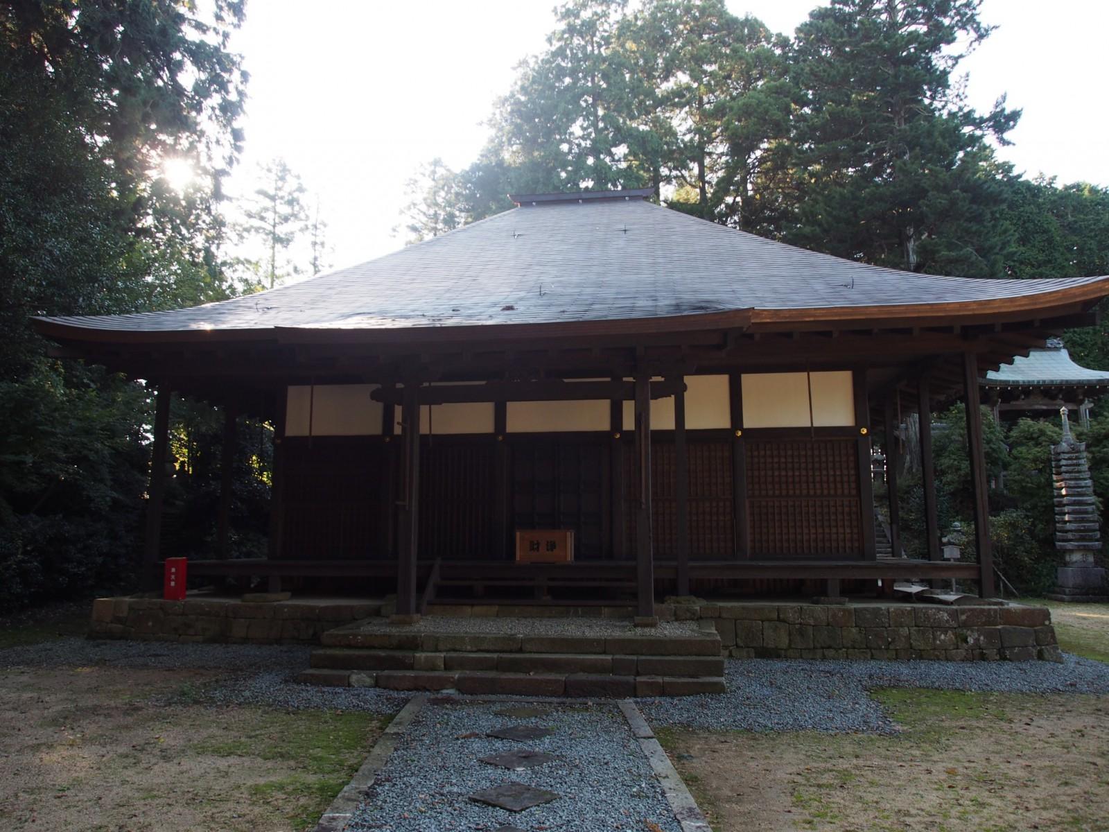 来迎寺の本堂