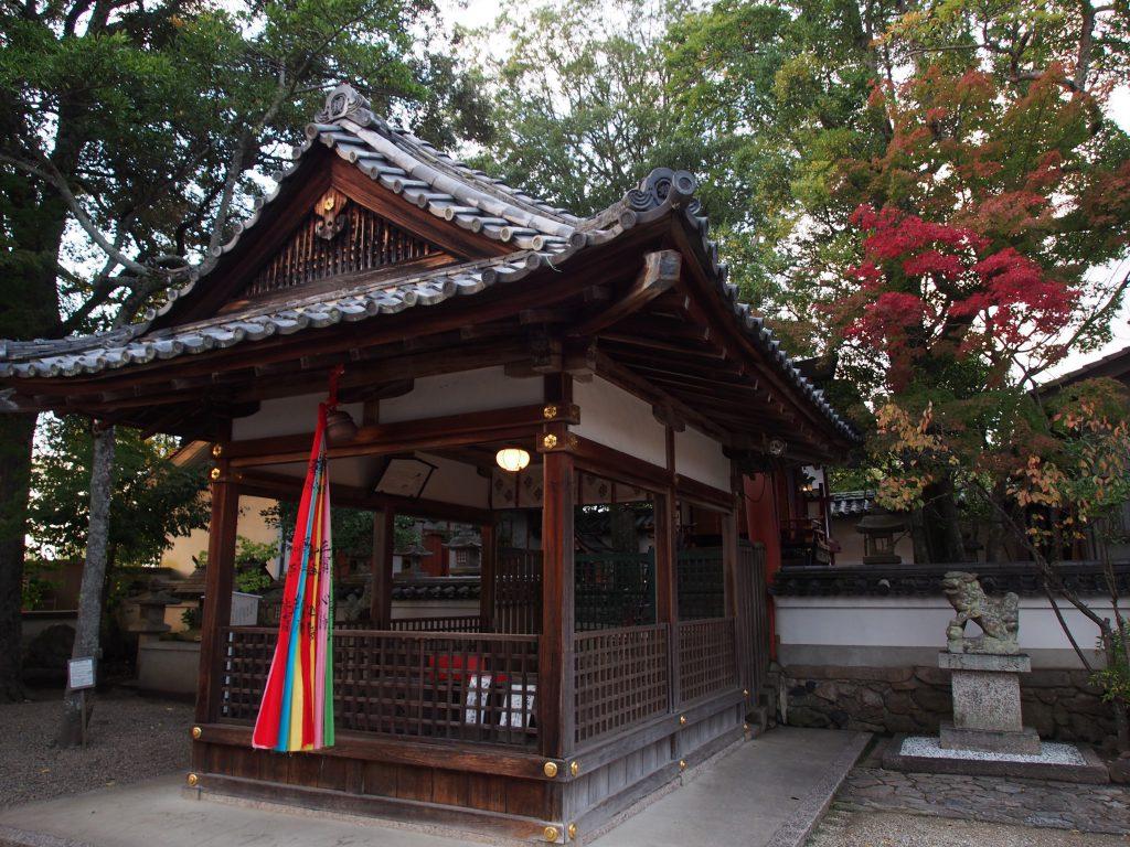 南都鏡神社の拝殿