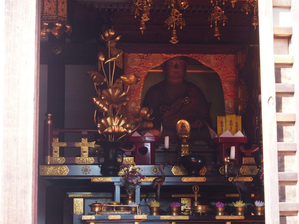 弘法大師坐像(十輪院・御影堂)