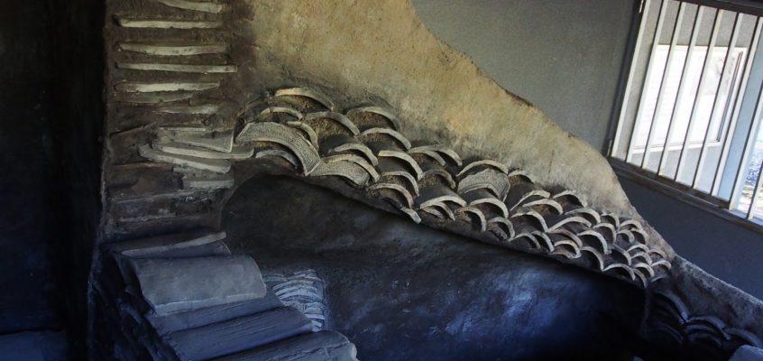 【大安寺杉山瓦窯跡群】古墳の横にあるリアルな「窯」の復元模型