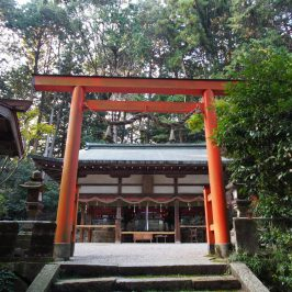 夜支布山口神社の鳥居