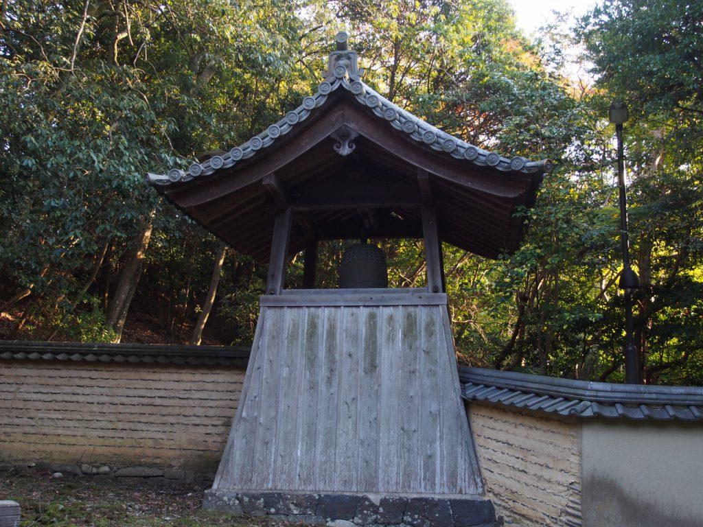 東大寺知足院の鐘楼