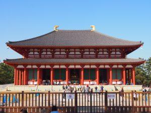 【興福寺中金堂】平成30年に天平様式で再建された「興福寺の中心」となる巨大な仏堂