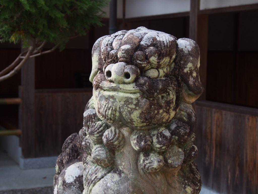 山上八幡神社の狛犬