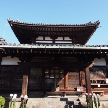 【福智院本堂】立派な地蔵菩薩さま=地蔵大仏をお祀りする鎌倉時代のお堂