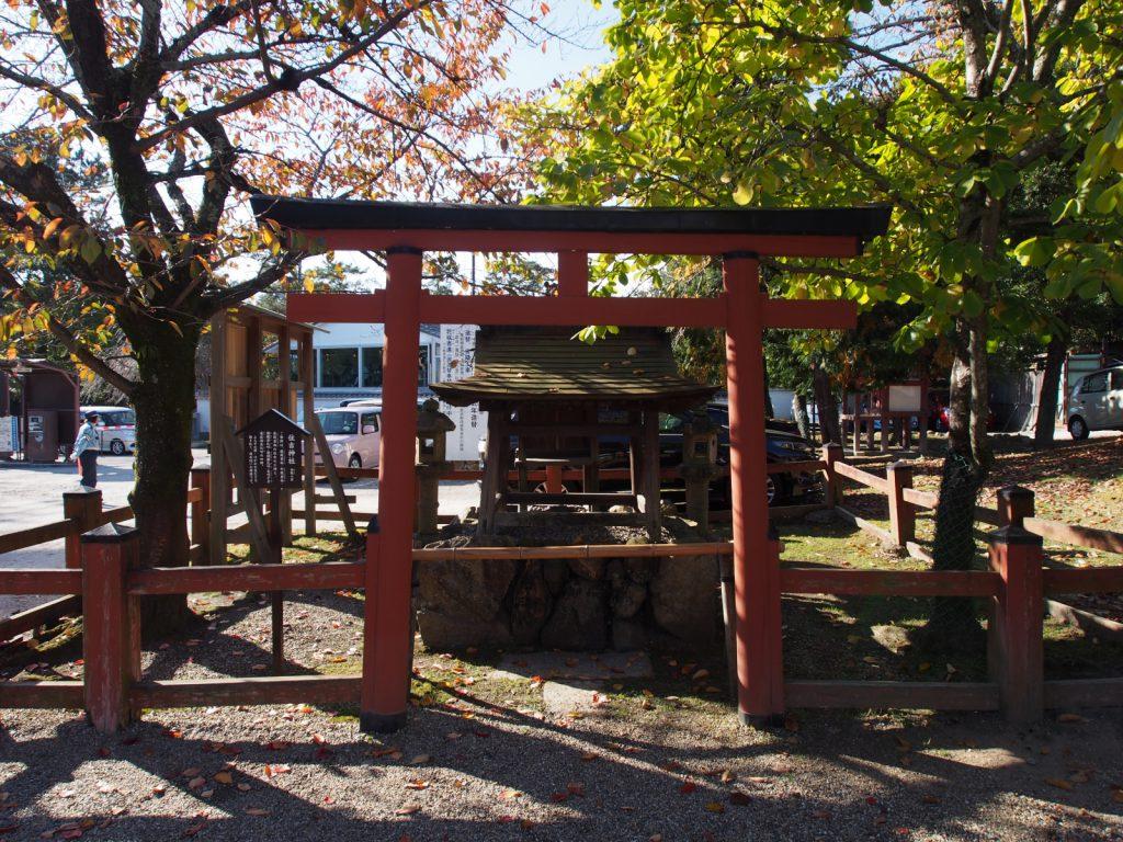 【住吉神社(氷室神社)】―住吉三神とその他四神をお祀りする境内社