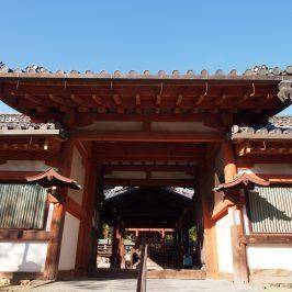 氷室神社「四脚門」