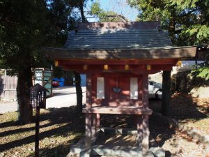 【招魂社(氷室神社)】西南戦争以下の戦没者等をお祀りする境内社