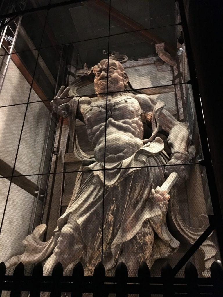 東大寺南大門金剛力士像「吽行(うんぎょう)像」