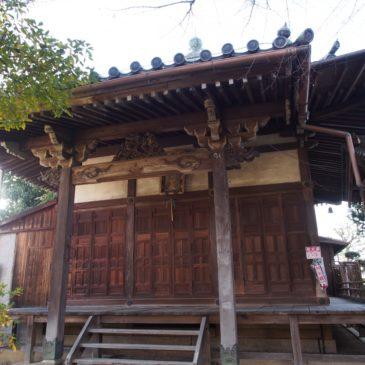 【新薬師寺香薬師堂】秘仏「おたま地蔵」・「景清地蔵」が安置される小さなお堂