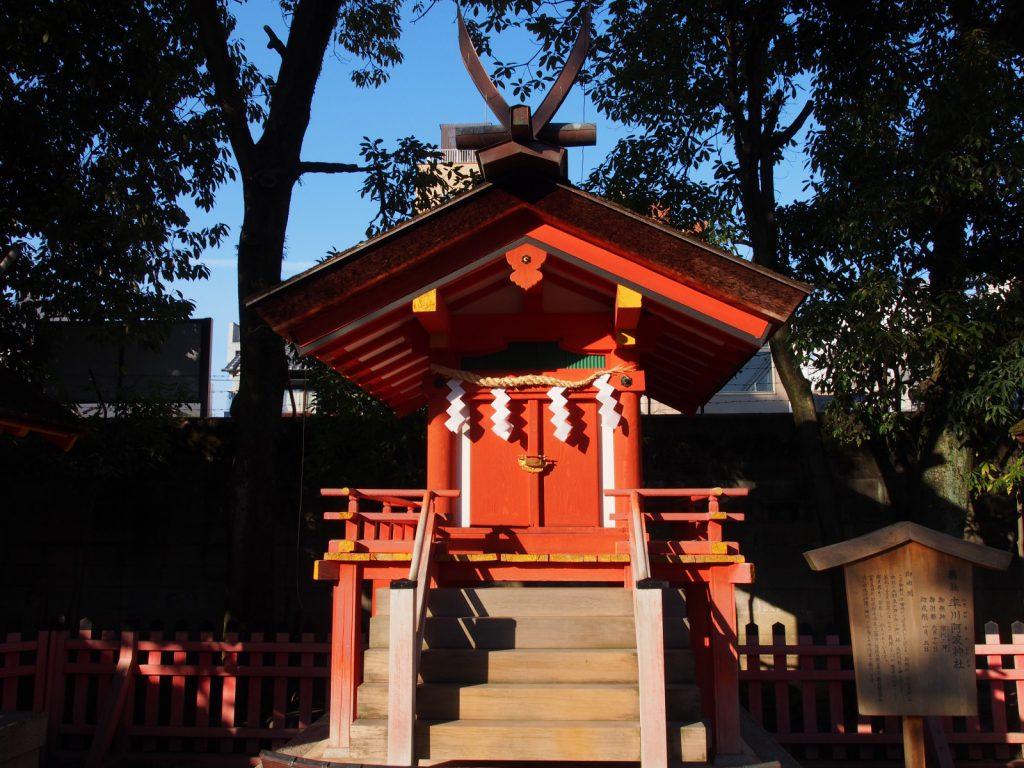 【率川阿波神社】奈良市最古の「えびす様」と言われる率川神社の境内社