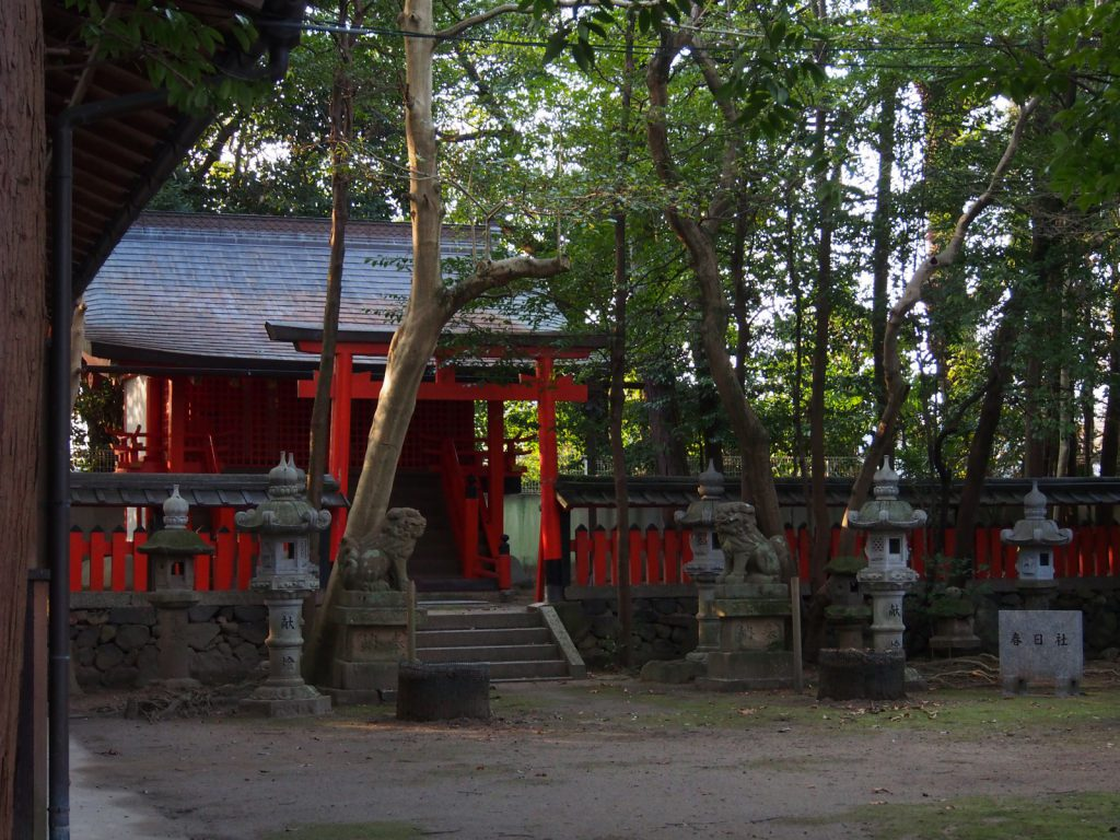 春日社(法華寺町)の社殿