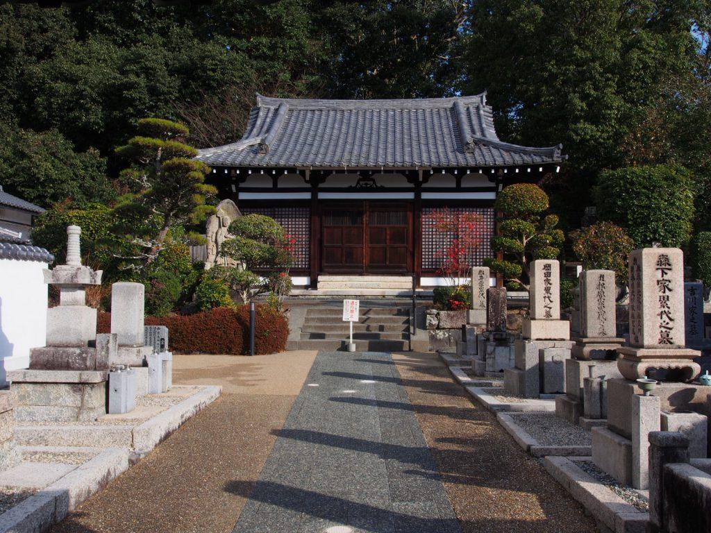 【空海寺】きたまちエリアの東端に位置する東大寺の末寺
