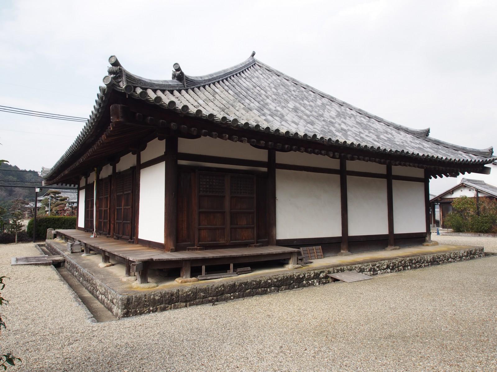 南明寺本堂(奈良)
