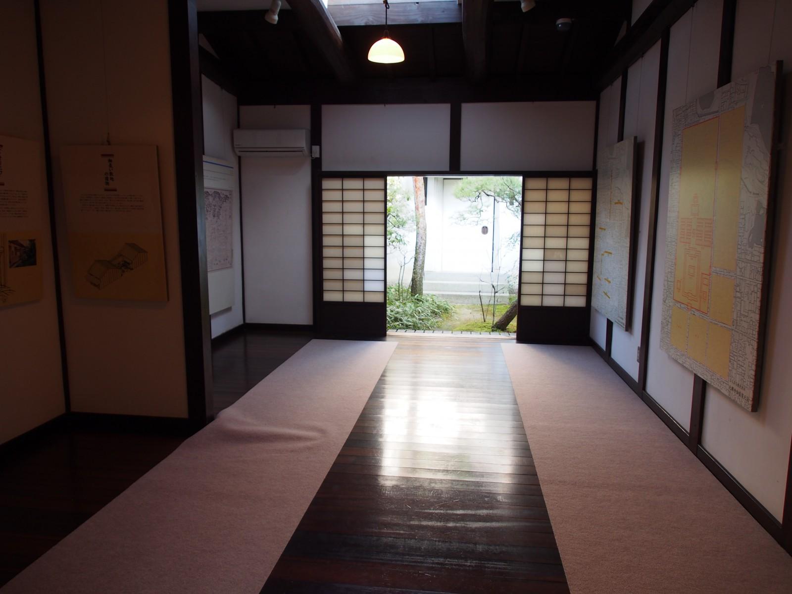 奈良町格子の家「奥の間」