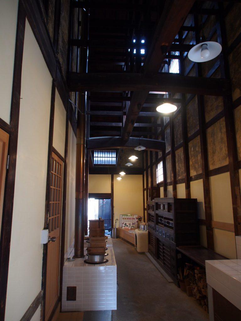 奈良町にぎわいの家「通り庭」