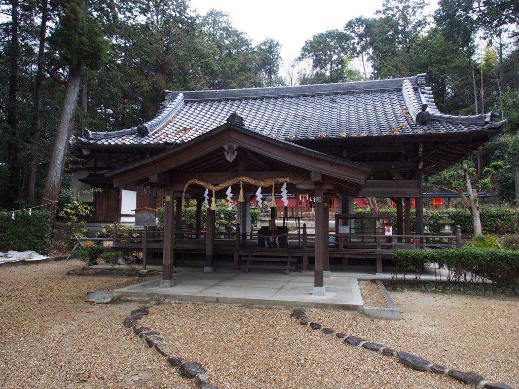 登弥神社拝殿