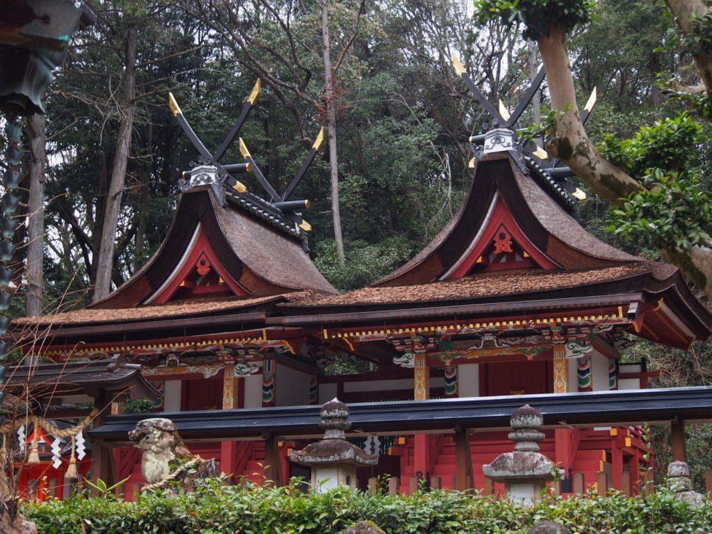 登弥神社本殿