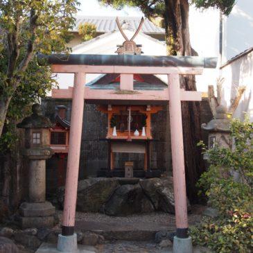 【住吉神社(今辻子町)】開化天皇のすぐそばにある小さな神社