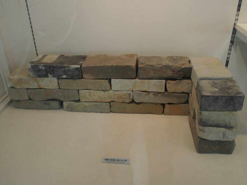 奈良時代のレンガ「塼」