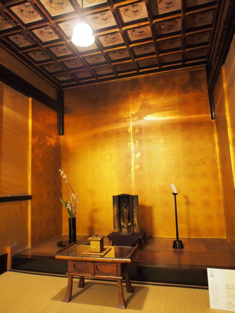 奈良町にぎわいの家「仏間」