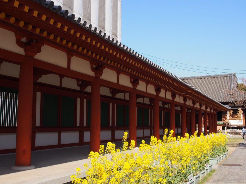 薬師寺の「回廊」