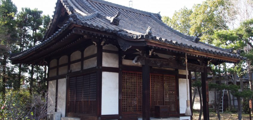 【薬師寺不動堂】白鳳伽藍の北西端に静かに佇む「秘仏不動明王像」をお祀りする空間