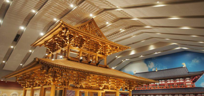 【平城宮いざない館】「奈良時代の営み」を気軽に体感して頂ける巨大展示施設