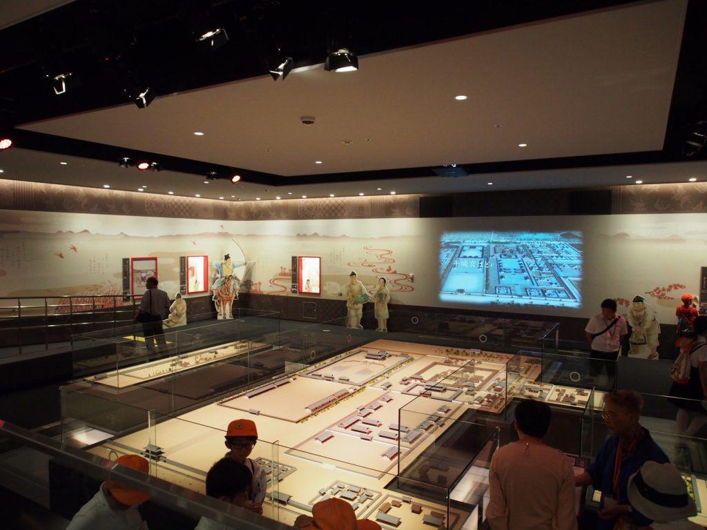 平城宮いざない館展示室2「平城宮のようす」