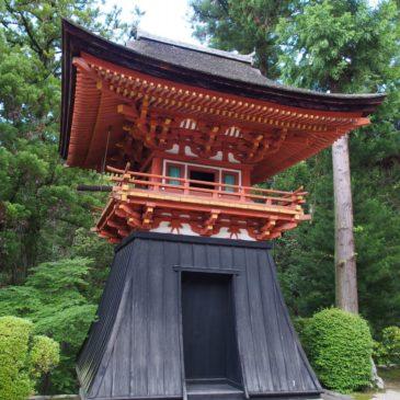 【霊山寺鐘楼】室町時代に建立された奈良でも指折りの「優美な鐘楼」