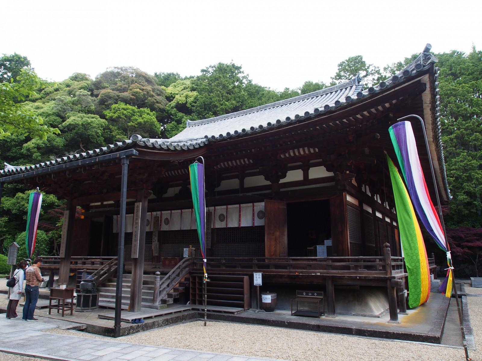 霊山寺「本堂」の風景
