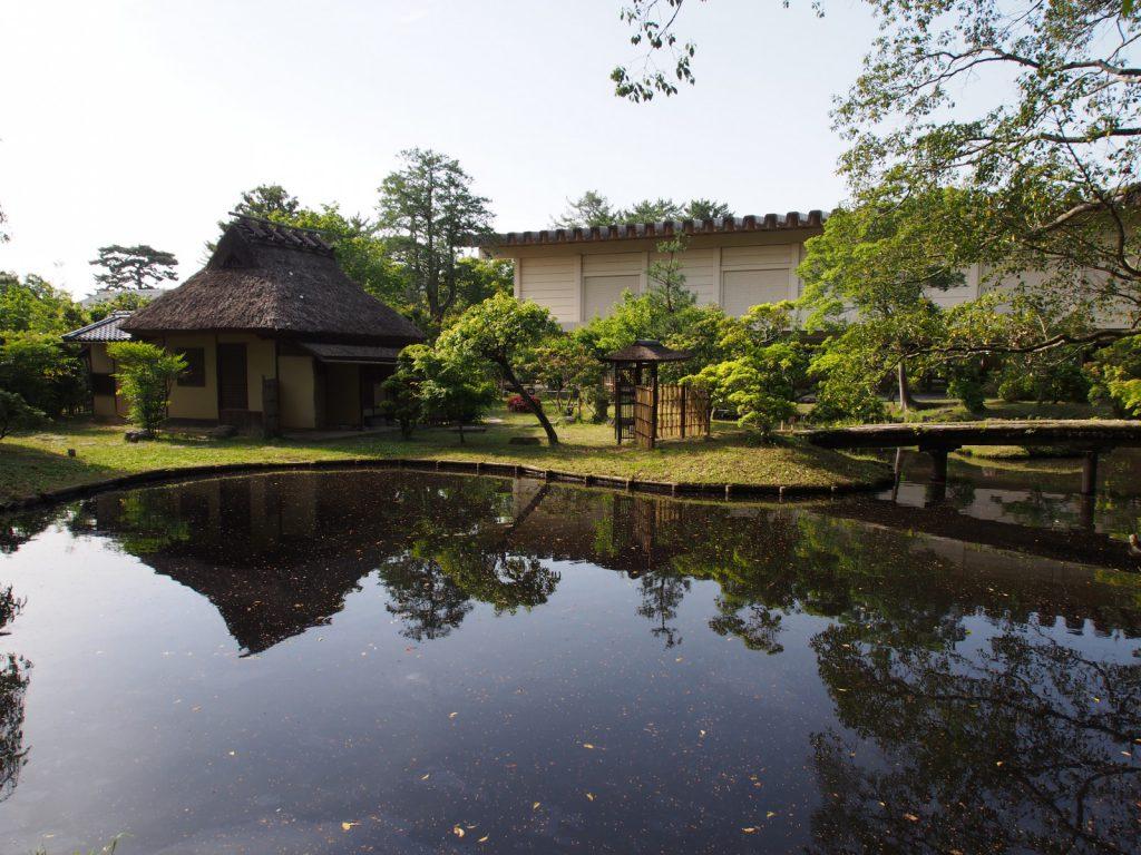 奈良国立博物館の中庭(庭園)