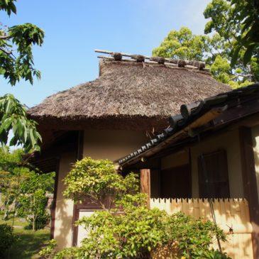 【八窓庵(奈良国立博物館)】かつては「大乗院庭園」内部にあった奈良を代表する茶室の一つ
